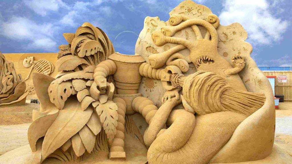 Hundested sandskulptur festival
